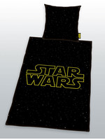 Star Wars - Logo Galaxy Duvet Set - 135 x 200 cm