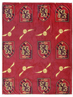 Harry Potter - Fleece Blanket Gryffindor