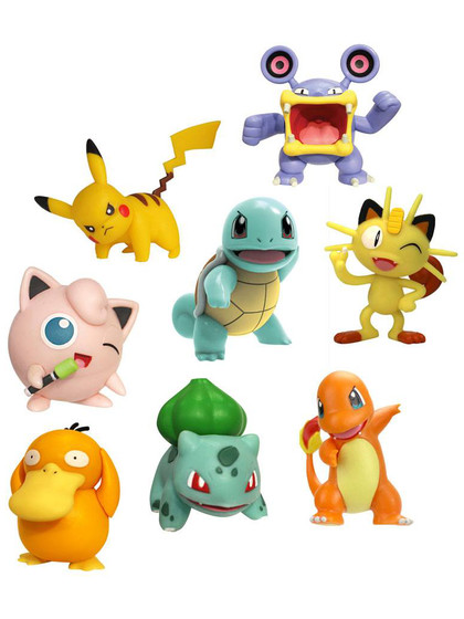 Pokemon - Battle Mini Figures 8-pack
