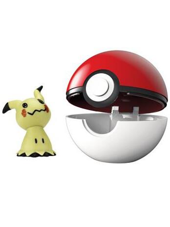 Pokemon - Clip 'N' Go Pokeball - Mimikyu