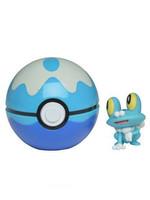 Pokemon - Clip 'N' Go Dive Ball - Froakie