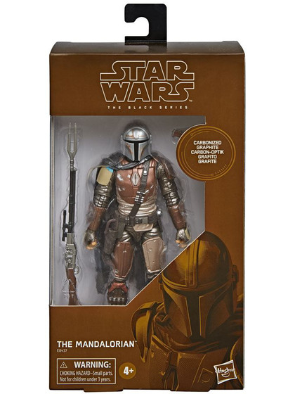 Star Wars Black Series - The Mandalorian Carbonized