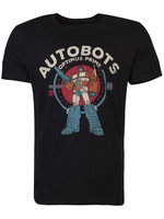 Transformers - Optimus Prime T-Shirt Black