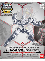 SD Gundam Cross Silhouette - Cross Silhouette Frame (White)