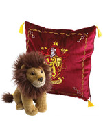 Harry Potter - Cushion with Mascot Plush - Gryffindor