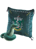 Harry Potter - Cushion with Mascot Plush - Slytherin