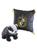 Harry Potter - Cushion with Mascot Plush - Hufflepuff