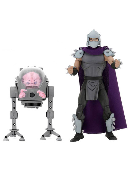 Turtles - Shredder & Krang in Bubble 2-pack