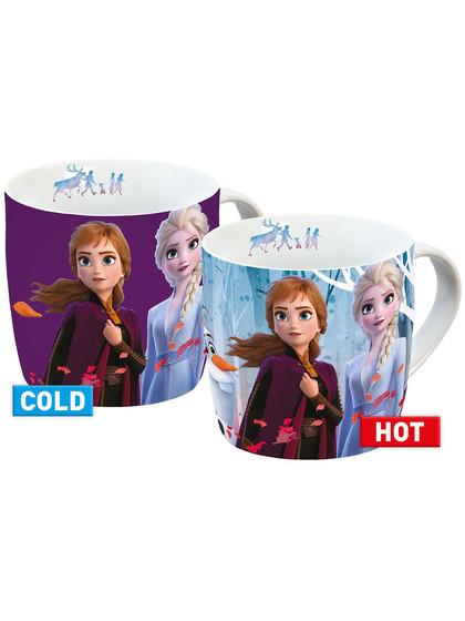 Frozen 2 - Anna & Elsa Heat Change Mug