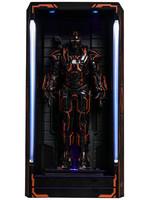 Iron Man 2 - Neon Tech War Machine Hall of Armor Diorama