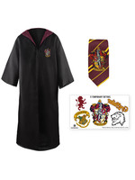 Harry Potter - Robe, Necktie & Tattoo Set Gryffindor