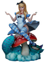 Alice in Wonderland Statue by J. Scott Campbell