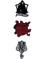 Harry Potter - Deluxe Dark Arts Patches 3-Pack