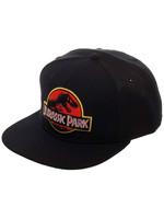 Jurassic Park - Logo Black Snapback Cap