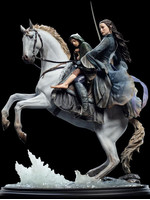 Lord of the Rings - Arwen & Frodo on Asfaloth Statue - 1/6