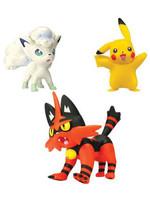 Pokemon - Battle Figure Set - Torracat, Alolan Vulpix & Pikachu