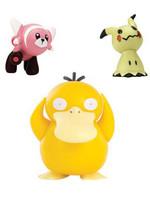 Pokemon - Battle Figure Set - Psyduck, Mimikyu & Stufful