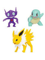 Pokemon - Battle Figure Set - Jolteon, Squirtle & Sableye