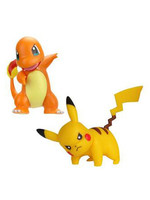 Pokemon - Battle Figure Pack - Pikachu & Charmander