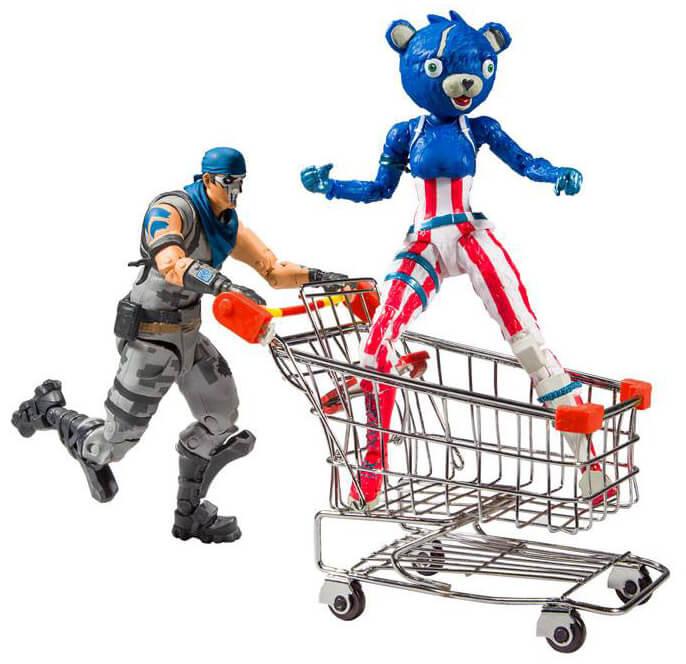 Fortnite - Shopping Cart Pack War Paint & Fireworks Team Leader
