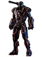Iron Man 2 - Diecast Neon Tech War Machine MMS - 1/6