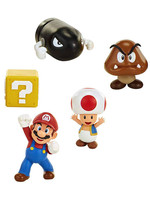 World of Nintendo - New Super Mario Bros. U Acorn Plains 5-Pack