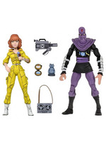 Turtles - April O'Neil & Foot Soldier 2-pack