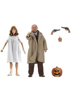 Halloween 2 - Dr. Loomis & Laurie Strode Retro Action Figures