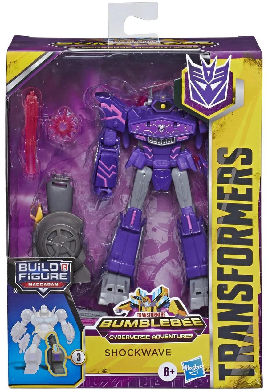 Transformers Cyberverse - Shockwave Deluxe Class (Maccadam BaF)