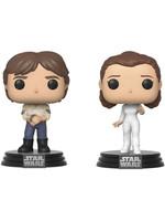 POP! Vinyl Star Wars - Han & Leia 2-pack