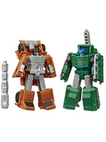 Transformers Earthrise War for Cybertron - Bombshock & Decepticon Growl Micromaster