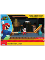World of Nintendo - Lava Castle Playset