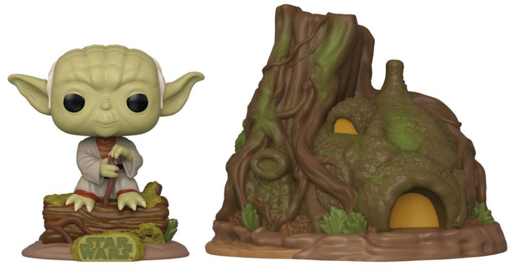 POP! Town Vinyl Star Wars - Yoda's Hut (40th Anniversary)