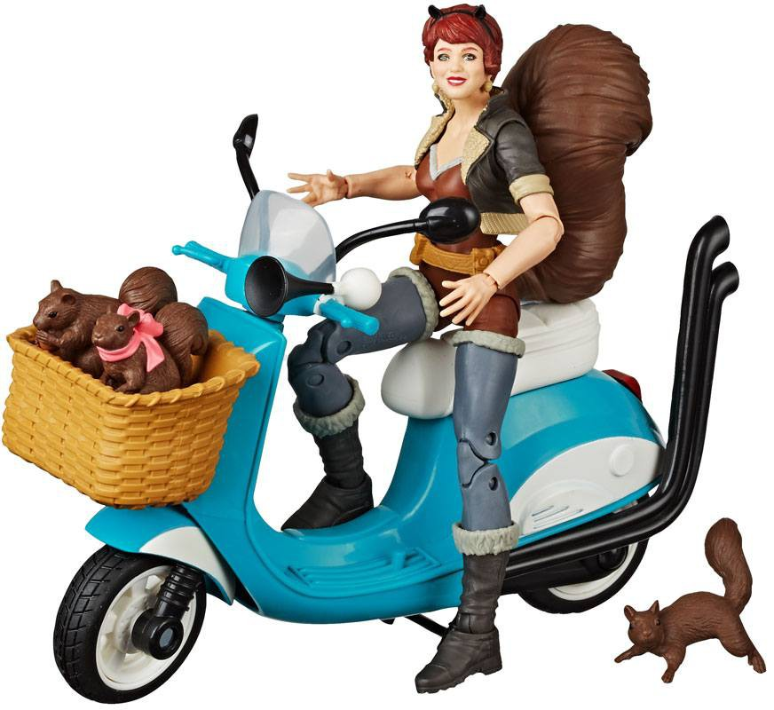 Marvel Legends Vehicles - Squirrel Girl with Scooter