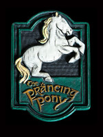 Lord of the Rings - The Prancing Pony Fridge Magnet