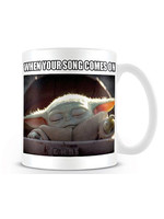 Star Wars The Mandalorian - When Your Song Comes On Mug