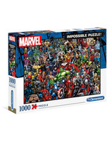 Marvel - 80th Anniversary Impossible Puzzle (Characters)