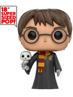 Super Sized Funko POP! Harry Potter - Harry with Hedwig