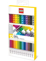 LEGO - Gel Pens 12-Pack (Bricks)