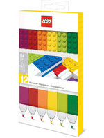 LEGO - Felt Tip Pens 12-Pack (Bricks)