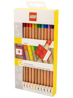 LEGO - Coloured Pencil 12-Pack & Topper