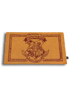 Harry Potter - Welcome to Hogwarts Doormat (Yellow)