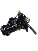 Final Fantasy VII: Advent Children - Cloud Strife & Fenrir - Play Arts Kai