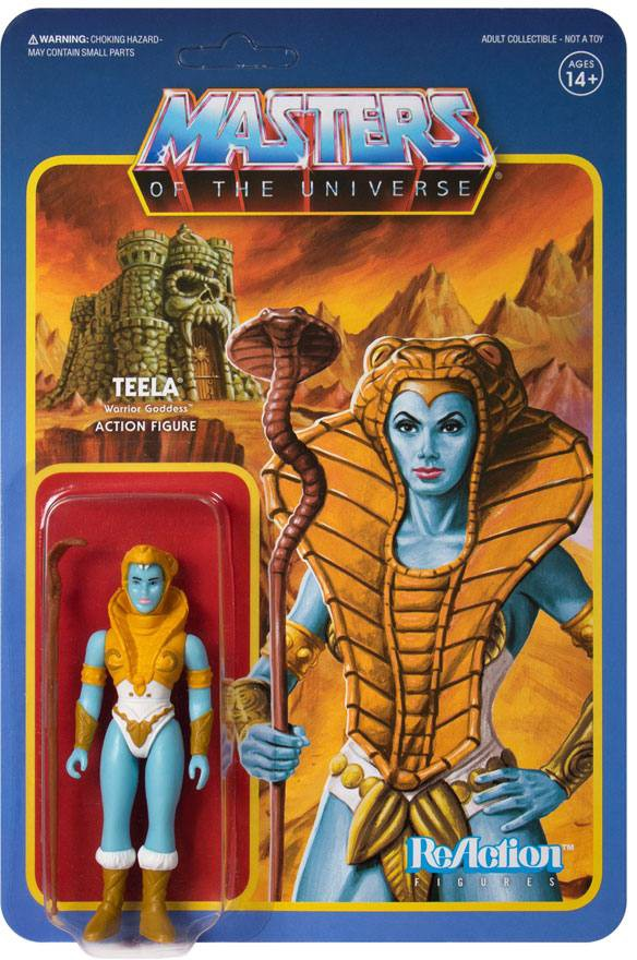 Masters of the Universe - Teela (Shiva) - ReAction