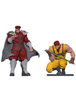 Street Fighter - Bison & Rolento PVC Statues - 1/8