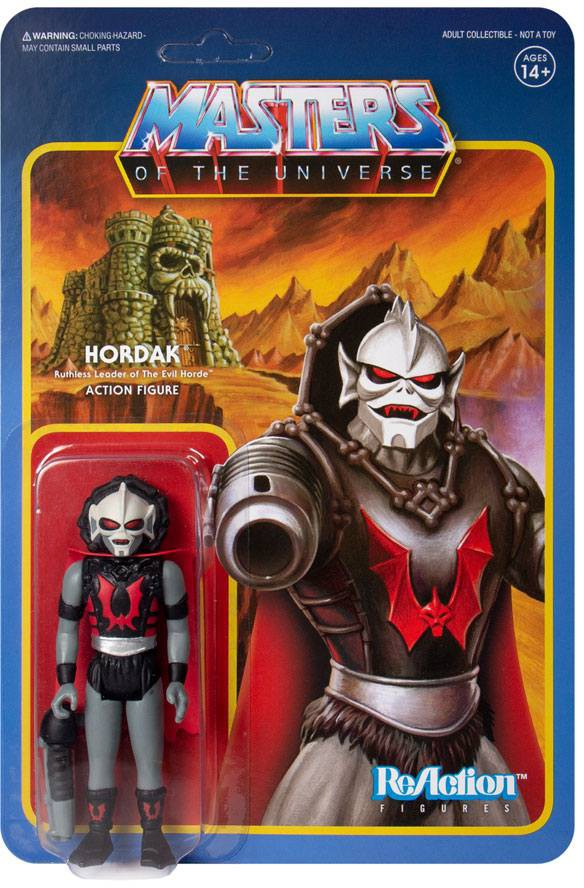 Masters of the Universe - Hordak (Grey) - ReAction