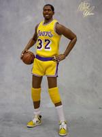NBA Collection - Magic Johnson Limited Edition - 1/6
