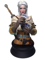 Witcher 3: Wild Hunt - Ciri Playing Gwent Bust