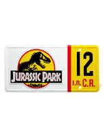 Jurassic Park - Dennis Nedry License Plate - 1/1