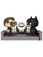 Funko POP! Movie Moments - Batman & Commissioner Gordon (Light Up Bat Signal)